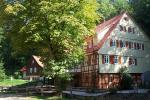 Die Hagmühle, Ansicht vom Besucherparkplatz
