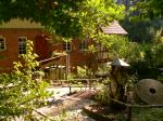 Haupteingang im Garten